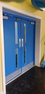 Steel Fire Rated Door School Example Door