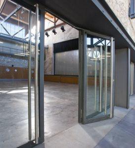 Aluminium Profile Glazed Door