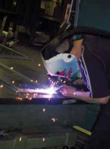 Security Rating Test Welder