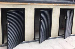Steel Fully Louvred Doors